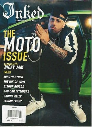 Inked Magazine - 2018-07 July 2018 (Nicky Jam Cover)